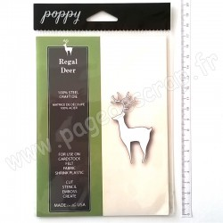 POPPYSTAMPS REGAL DEER