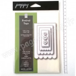 POPPYSTAMPS  FESTIVAL TAGS