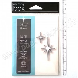 MEMORY BOX STAR OF WONDER 2 outils