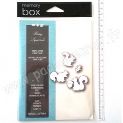 MEMORY BOX BUSY SQUIRRELS 5 outils