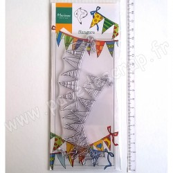 MARIANNE DESIGN TAMPON CLEAR HETTY'S BORDER GARLANDS