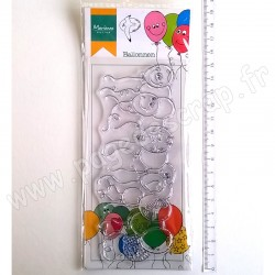 MARIANNE DESIGN TAMPON CLEAR HETTY'S BORDER BALLOONS