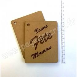 PDS MINI ALBUM BOIS BONNE FETE MAMAN 8 x 10 cm
