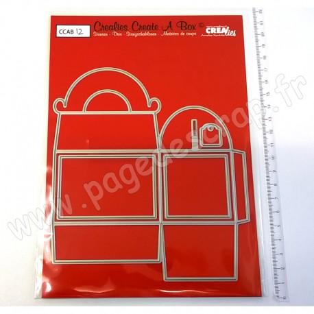 CREALIES DIES CREATE A BOX N°12 GABLE BOX