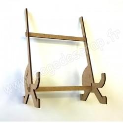 PDS SUPPORT BOIS CADRE HOME DECO 30 cm x 30 cm