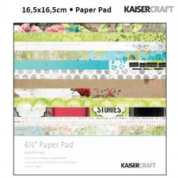 KAISER CRAFT KALEIDOSCOPE PAPER PACK 15X15