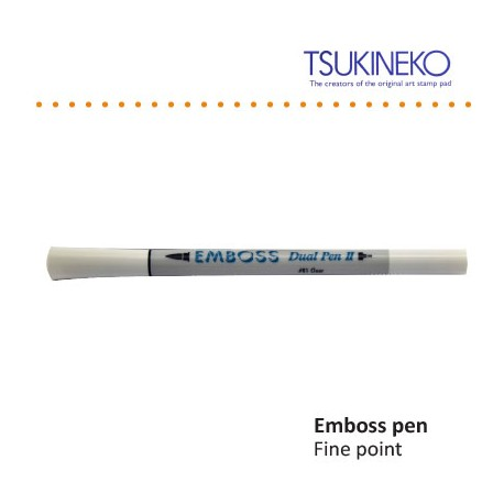 EMBOSS PEN II CLEAR