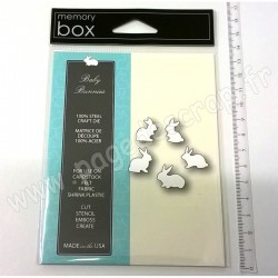 MEMORY BOX BABY BUNNIES CRAFT DIES