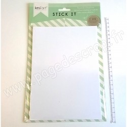 KESI'ART STICK IT MOUSSE ADHESIVE EPAISSEUR 3 mm 14.8 cm x 21 cm