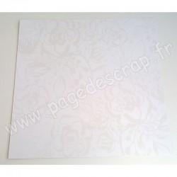 KAISERCRAFT WILDFLOWER FLORAL GLOSS 30.5 cm x 30.5 cm