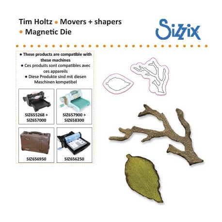SIZIX TIM HOLTZ MOVERS & SHAPERS DIE MINI BRANCH