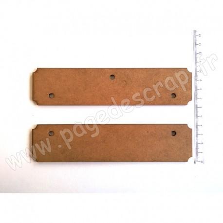 PDS CADRE BOIS 17 x 15 cm HOME DECO KIT DEBUT / FIN 2 pièces