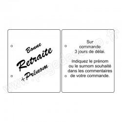 PDS ALBUM BOIS 22,5 x19 cm    PERSONNALISE