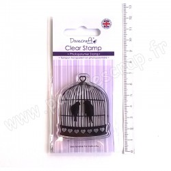 DOVECRAFT CLEAR STAMP BIRDCAGE