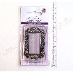 DOVECRAFT CLEAR STAMP DECORATIVE FRAME