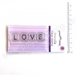 DOVECRAFT CLEAR STAMP LOVE