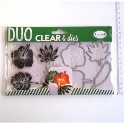 ALADINE DUO CLEAR + DIE CUT TROPICAL