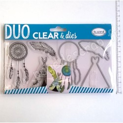 ALADINE DUO CLEAR + DIE CUT INDIEN