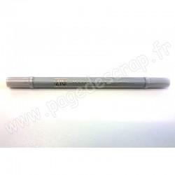 ZIG FEUTRE ARGENT DOUBLE POINTE 1mm/1.2mm