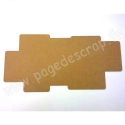 PDS FOND BOIS VENDU SEUL POUR CADRE DESTRUCTURE ROND HOME DECO 60 cm x 30 cm