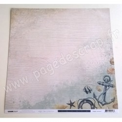 KAISERCRAFT HIGH TIDE COLLECTION OVERBOARD 30.5 cm x 30.5 cm P2216