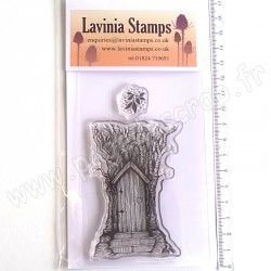 LAVINIA TAMPON CLEAR FAIRY DOOR LARGE