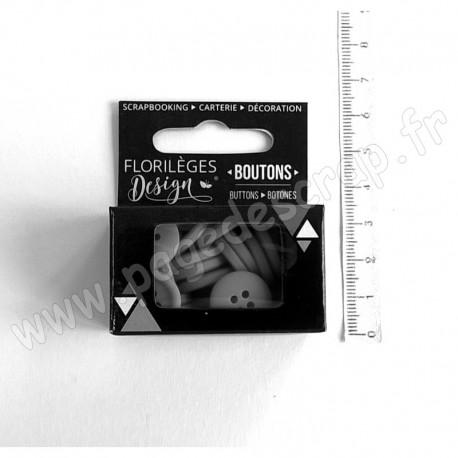 FLORILEGES DESIGN BOUTONS GARANCE 30 pièces