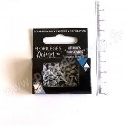 FLORILEGES DESIGN MINI ATTACHES PARISIENNES EDELWEISS 60 pièces