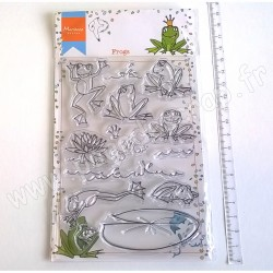 MARIANNE DESIGN TAMPON CLEAR HETTY'S FROGS