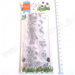 MARIANNE DESIGN TAMPON CLEAR HETTY'S BORDER FLOWER MEADOW