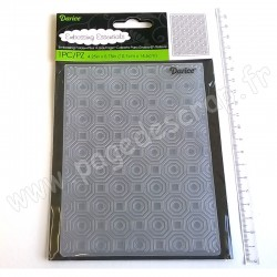 DARICE EMBOSSING TEMPLATE OCTAGON BACKGROUND 10,8 cm x 14,6 cm