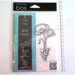 MEMORY BOX PERKY POPPY