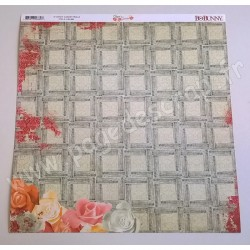 BO BUNNY ARYIA'S GARDEN TRELLIS 30.5 cm x30.5 cm