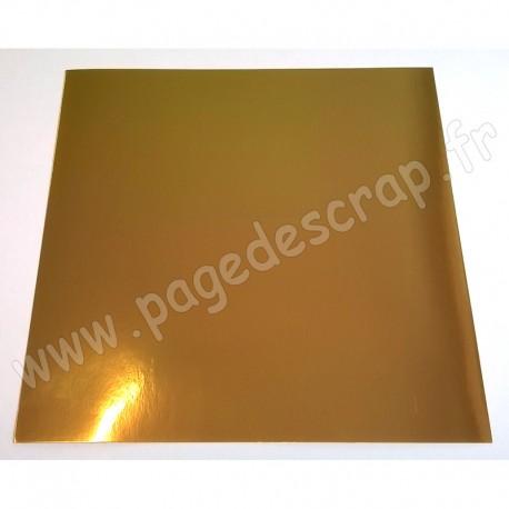 MAHE OR MIROIR 30,5 cm x 30,5 cm 250 gr