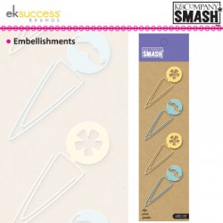 K&COMP SMASH ICON SHAPED CLIPS