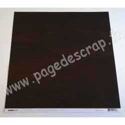 KAISERCRAFT BOMBAY SUNSET COLLECTION ROSEWOOD 30.5 cm x 30.5 cm