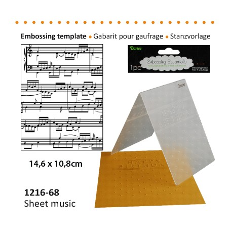 GAB GAUFRAGE SHEET MUSIC