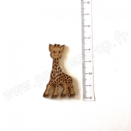 PDS SUJET BOIS GIRAFE  COLLECTION NAISSANCE