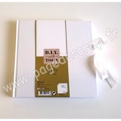 TOGA LIVRE D'OR BLANC 80 pages 200 x 200 mm