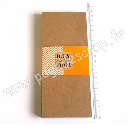 TOGA TO DO LIST KRAFT 100 pages 80 x 185 mm ZANIMO/JUNGLE
