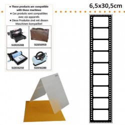 EMBOS TEMPLATE 6.5X30.5CM FILM