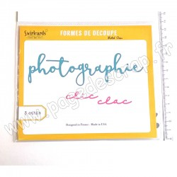 SWIRLCARDS DIES PHOTOGRAPHIE 3 outils