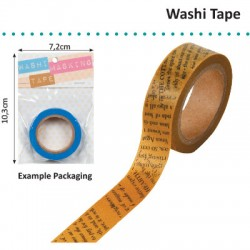 WASHI TAPE NEWSPAPER