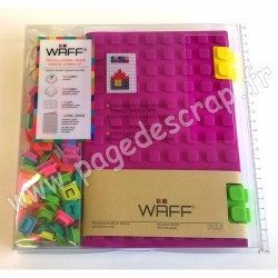 WAFF KIT JOURNAL CREATIF COMBO A5 PURPLE