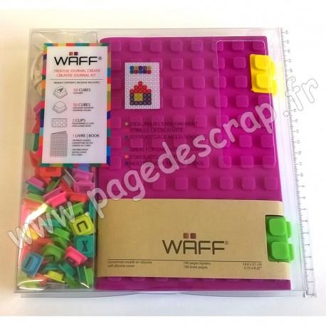 WAFF KIT JOURNAL CREATIF COMBO A5 PURPLE