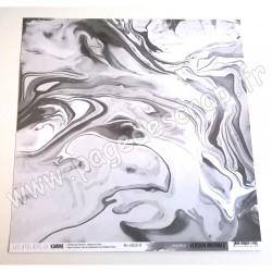 LES ATELIERS DE KARINE VERSION ORIGINALE MARBLE 30,5 cm x30,5 cm