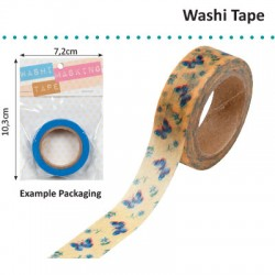 WASHI TAPE YELLOW DWO