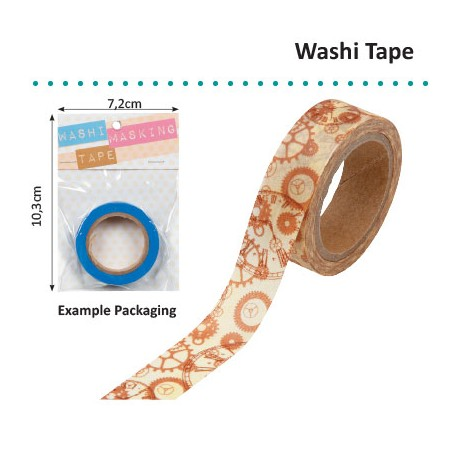 WASHI TAPE STEAMPUNK