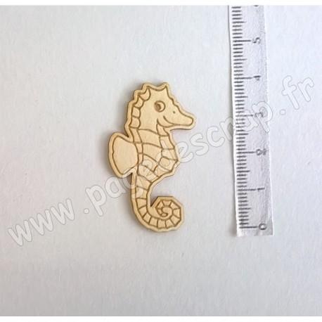 PDS SUJET BOIS FIN 1 mm HIPPOCAMPE