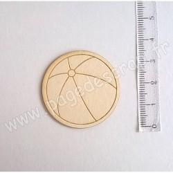 PDS SUJET BOIS FIN 1 mm BALLON PLAGE
